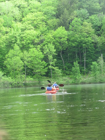 Wilgus State Park: Kayaking Camp Plymouth