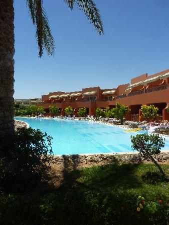 Coral Sea Holiday Village: Our swim-up block