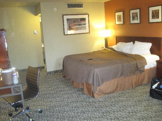 Ramada Mesa Phoenix East Area: Inside the room, view one.