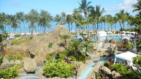 Grand Wailea - A Waldorf Astoria Resort: View from the lanai