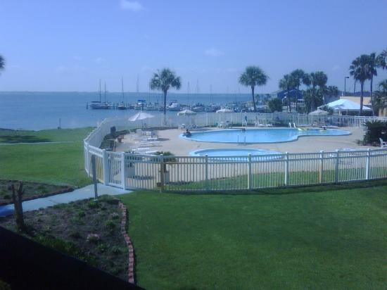 Quality Inn and Suites: View from our room