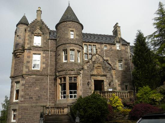 Crieff, UK : the hotel