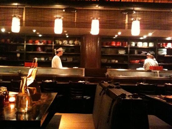 Matsuri: cucina a vista