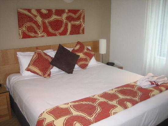 ويندام فاكيشن ريزورت إيشا باسيفيك سيدني: Nice King Size Bed