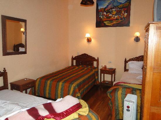 Amaru Hostal: our room