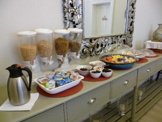 Leeuwenvoet House: breakfast