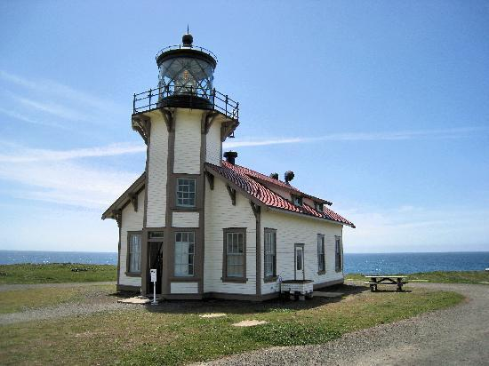 Point Cabrillo Light Station State Historic Park: Point Cabrillo Lighthouse
