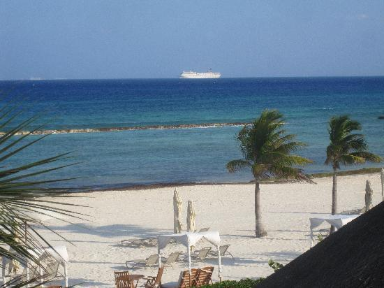 Grand Velas Riviera Maya: VIEW FROM OUR SUITE