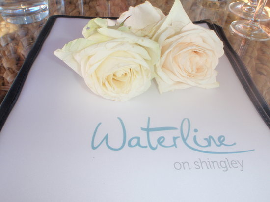 Waterline on Shingley: Wonderful menu...yummo!