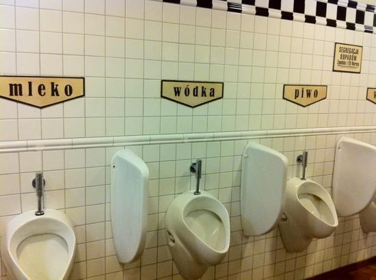 Pod Wawelem: bagni degli uomini