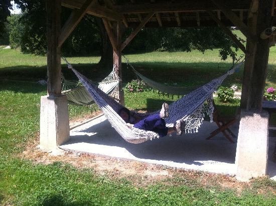 La Maison aux Bambous: me on the hammock