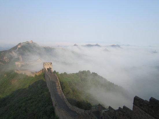 Great Wall Hiking : jinshanling to Sumatai