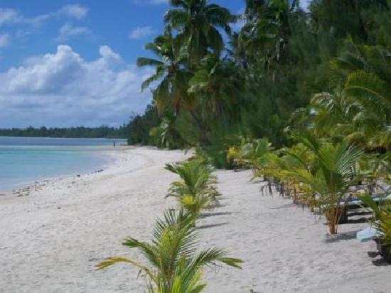 Tamanu Beach: Beach