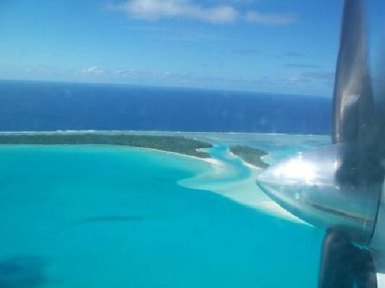Tamanu Beach: Aitutaki Lagoon