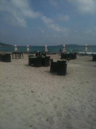 Restaurant Playa Baggia : la plage