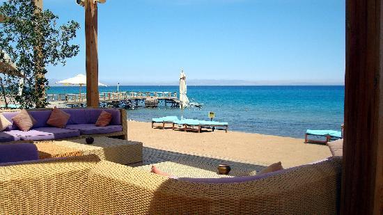 Le Meridien Dahab Resort: Bar de la plage