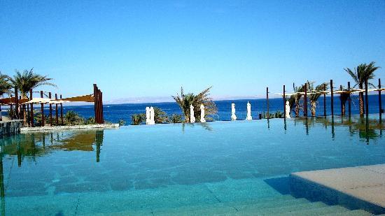 Le Meridien Dahab Resort: Vue de la piscine