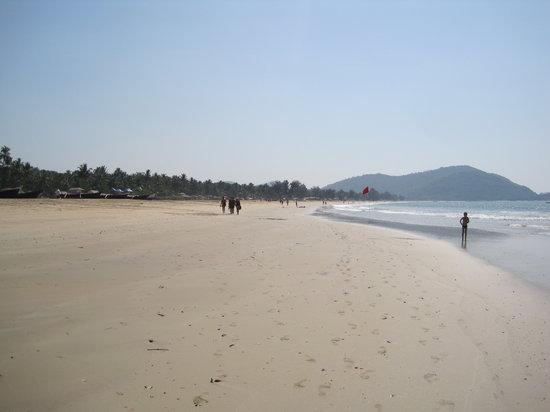 Agonda Beach: long beach