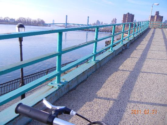 Prive: イーストリバー沿い早朝のサイクリング♪