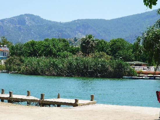 Dalyan, Turkey: ACROSS THE WATER