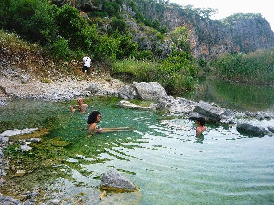 Dalyan, Turki: MUD BATHS