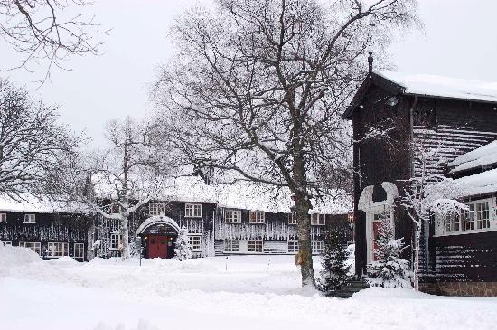 Lysebu: Winter image