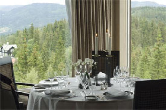 Lysebu: Restaurant