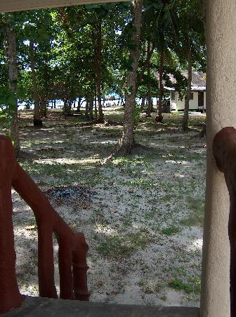 Poda Island Resort: View from Bungalow C