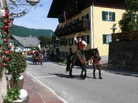 Hotel-Pension Wagnermigl: Parade in Kuchl