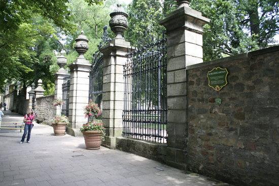 Schlossgarten Fulda: Eingang zum Schlosspark