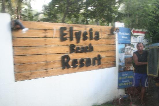 Elysia Beach Resort: Entrance