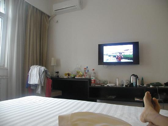 Orange Hotel (Beijing Wangjing): The standard rooms are small but clean