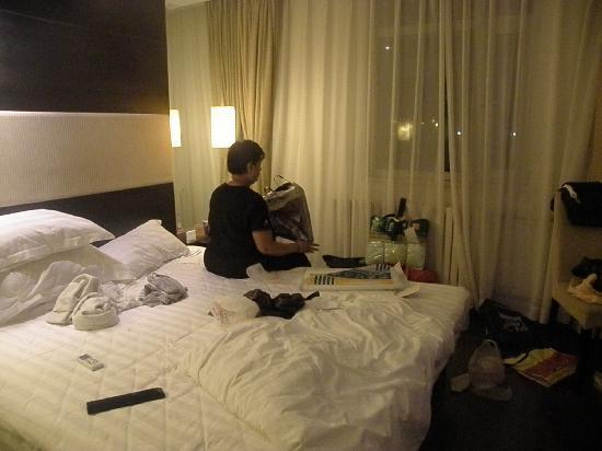 Orange Hotel (Beijing Wangjing): Simple and comfortable bed