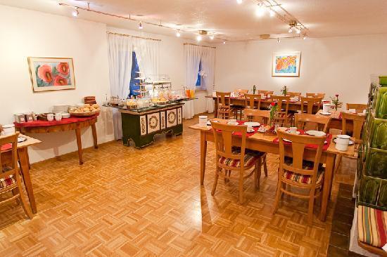 Hotel Garni Schacherer: Frühstücksraum