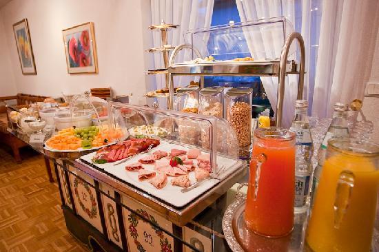 Hotel Garni Schacherer: Frühstücksbuffet