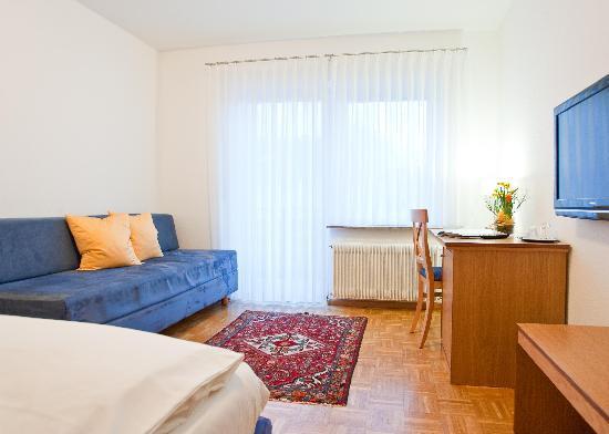 Hotel Garni Schacherer: Einzelzimmer Ansicht 2