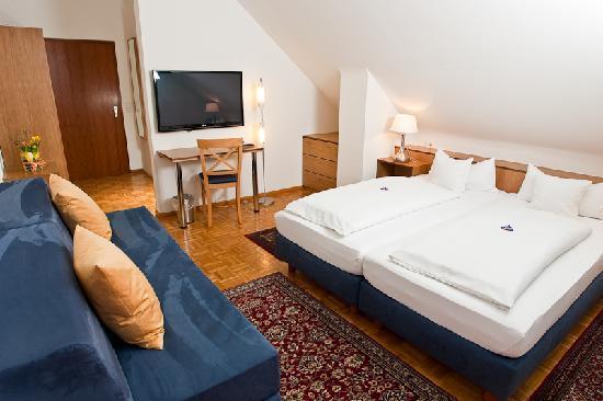 Hotel Garni Schacherer: Doppelzimmer