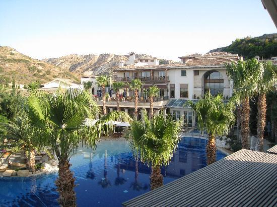 Columbia Beach Resort Pissouri: View from balcony.