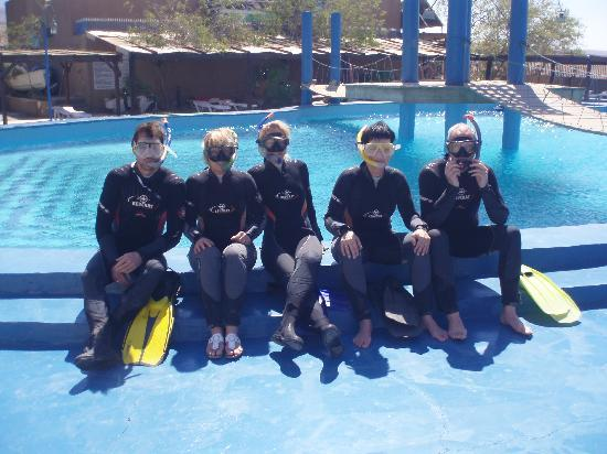 SeaStar Water Sports: snorkling with family from Holland