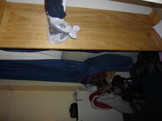 Hotel Titus: cupboard