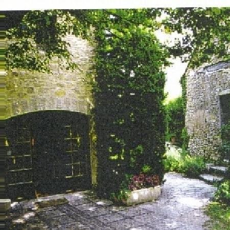 Moulin d'Antelon: L entrée du Moulin
