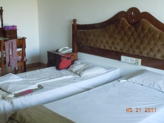 Hotel Sudu Araliya : 部屋からみた景色
