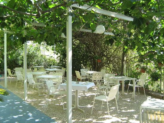 Albergo Il Castello: The garden / outside dining area