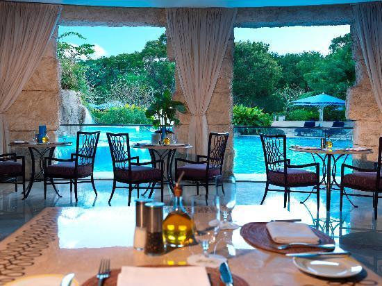 Sandy Lane Hotel : The Spa Cafe