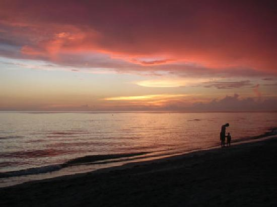 Gulf Beach Resort Motel: Enjoy sunsets right on the beach!