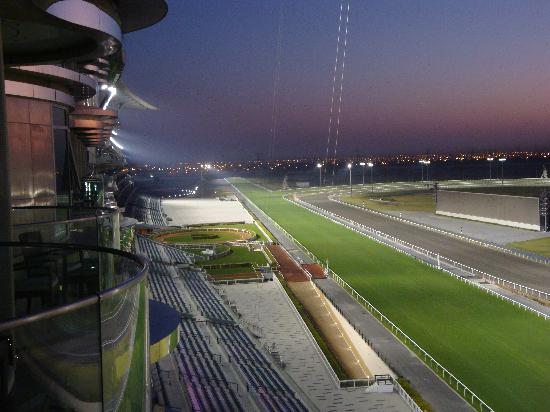 The Meydan Hotel: Race Track during Dawn