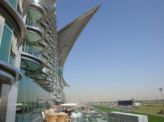 The Meydan Hotel: View from the Restaurant