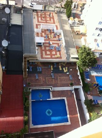Vina del Mar Apartments: view from the 14th floor