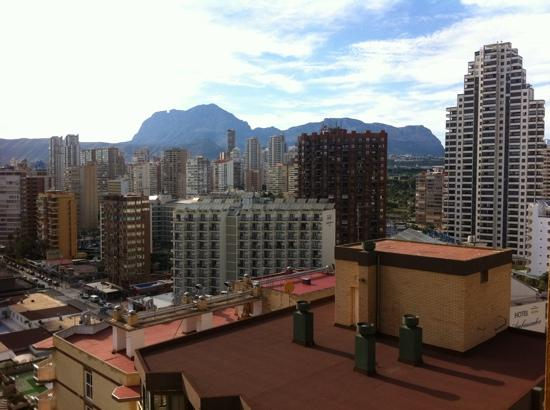 Vina del Mar Apartments: benidorm skyline view from the14th floor