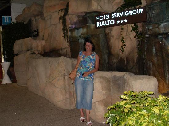Servigroup Rialto: entrance to the Rialto